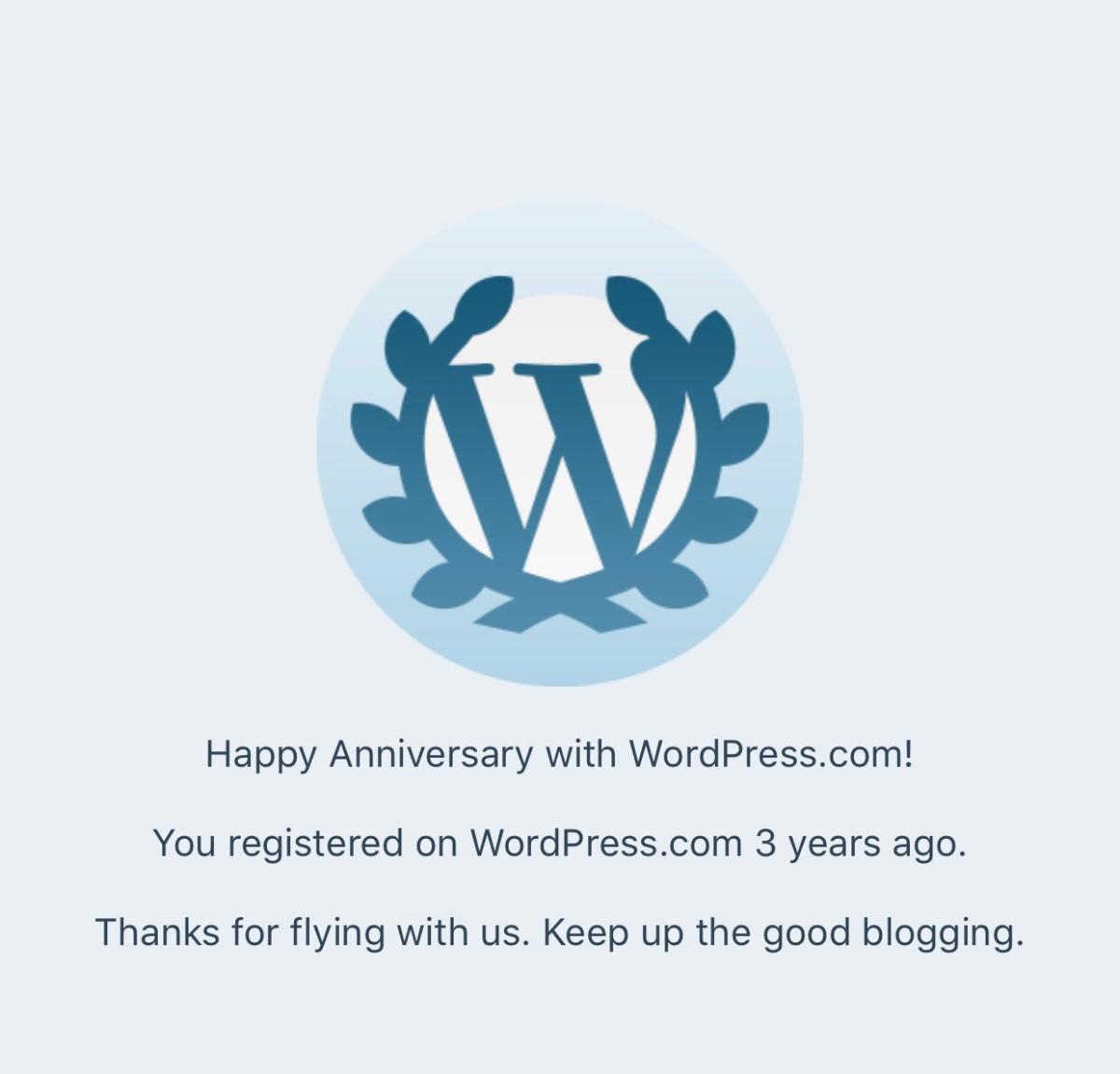 Happy Anniversary Write, Live and Love